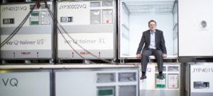 va-Q-tec's CEO Dr. Joachim Kuhn