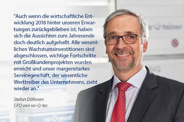 va-Q-tec AG veröffentlicht vorläufige Finanzzahlen für 2018