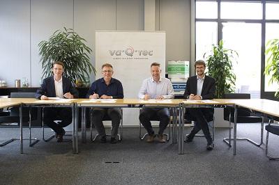 va-Q-tec setzt die enge Zusammenarbeit mit der Universität Würzburg fort