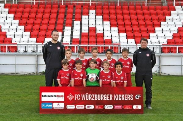 Trikotsponsor der U11 II des FC Würzburger Kickers