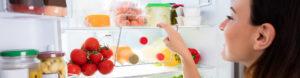 Kühlgeräte und Lebensmittel