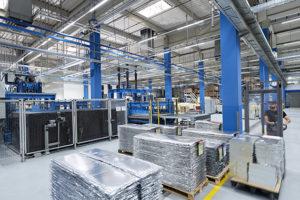 va-Q-tec production hall