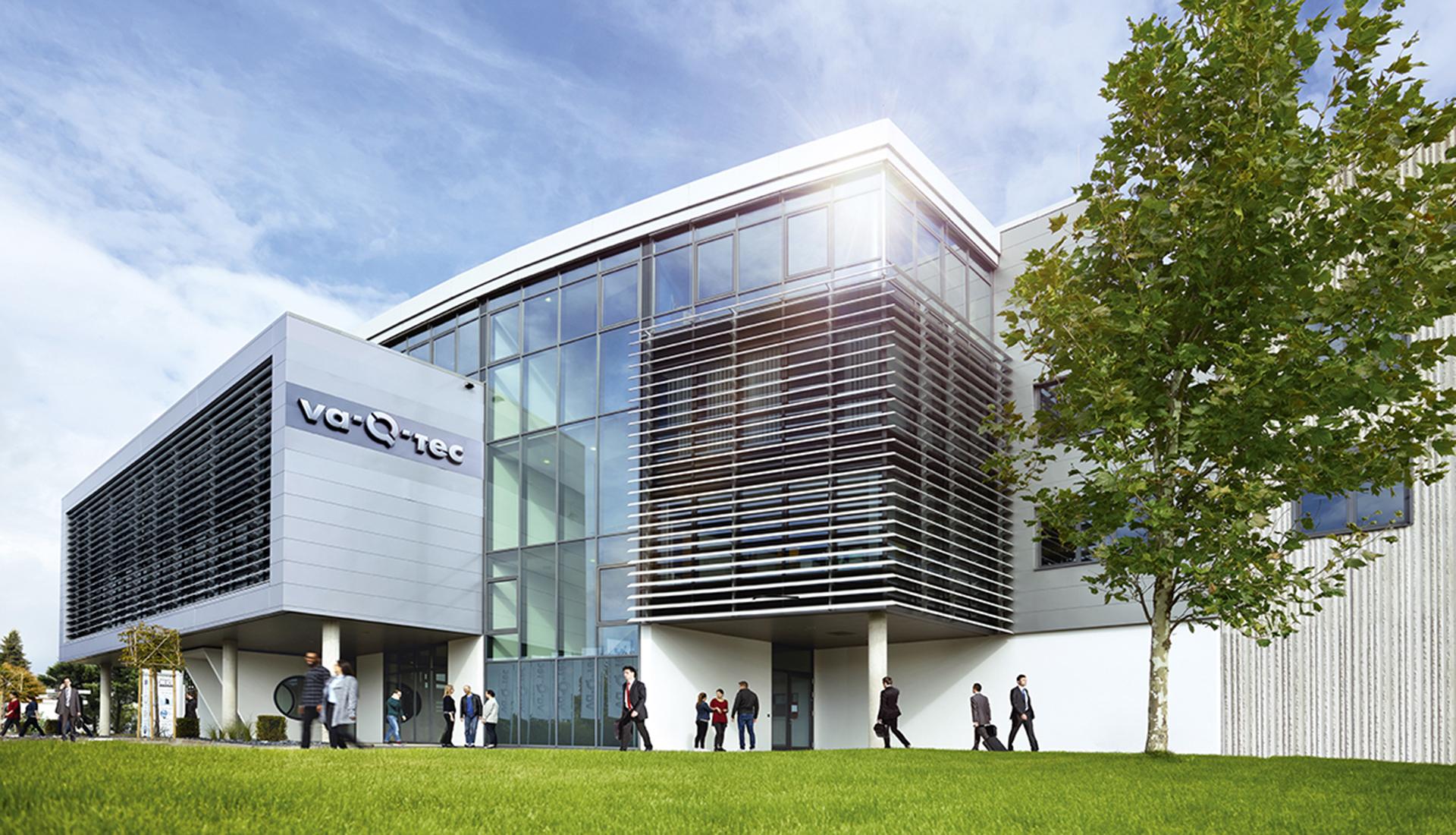 va-Q-tec headquarters in Würzburg, Germany